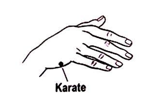 Karate-hand
